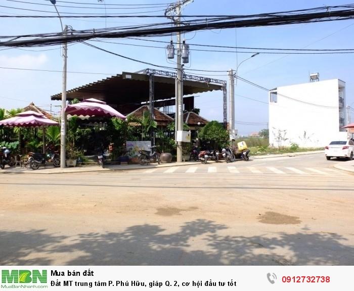 Đất MT trung tâm P. Phú Hữu, giáp Q. 2, cơ hội đầu tư tốt