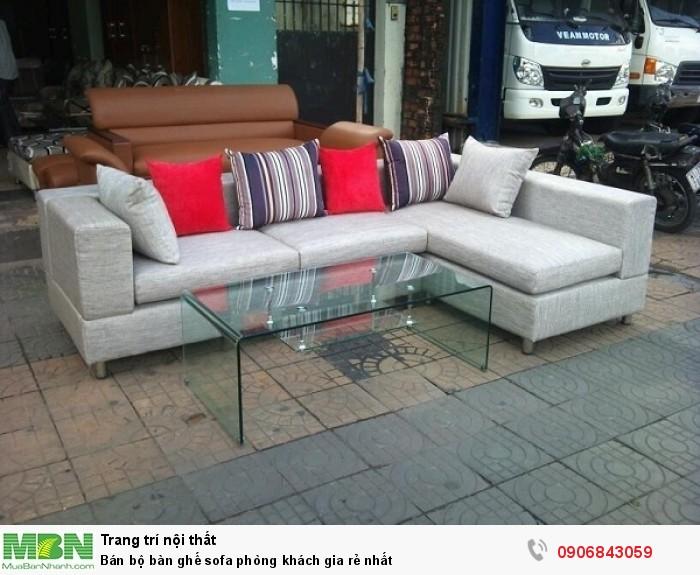 Bán bộ bàn ghế sofa phòng khách gia rẻ nhất