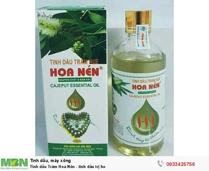 Tinh dầu Tràm Hoa Nén - tinh dầu trị ho0
