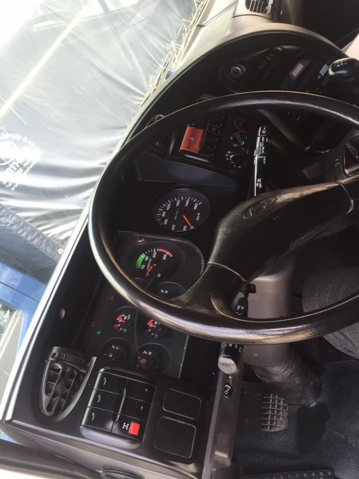 Đầu kéo hd700 cũ