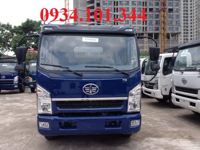 Xe tải Faw tải trọng 7T3 thùng dài 6.2 mét. Máy, cầu, số Hyundai