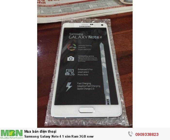 Samsung Galaxy Note 4 1 sim Ram 3GB  new