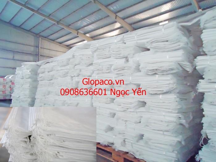 Bao PP dệt đựng gạo in flexo