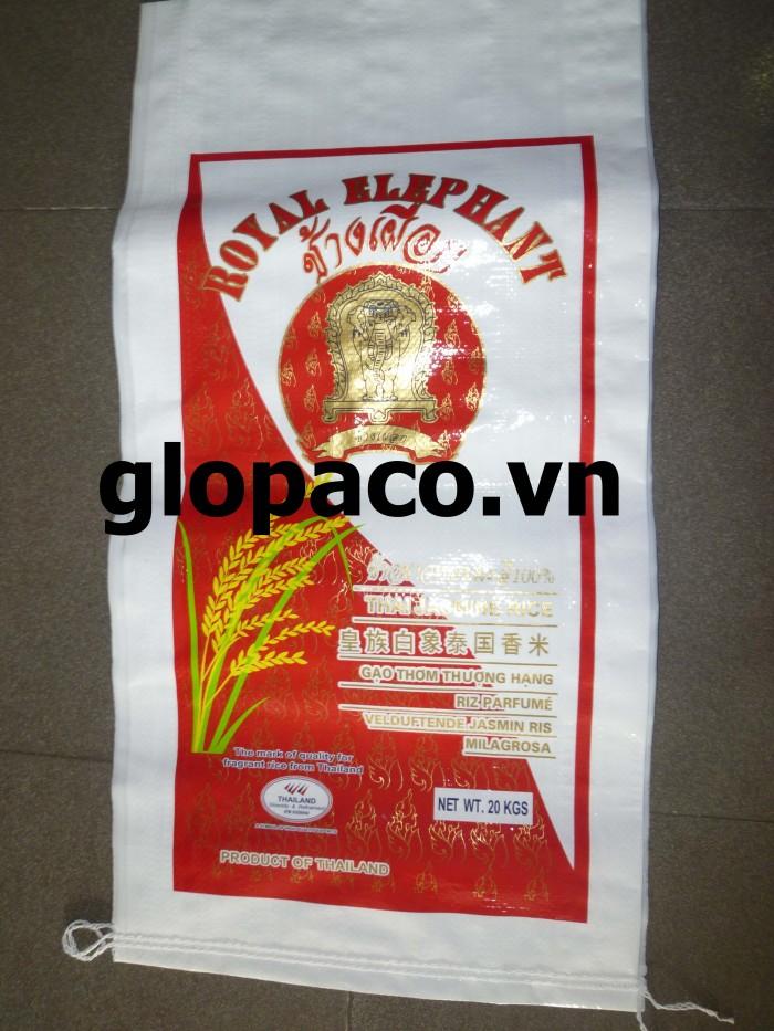Bao PP dệt cao cấp (laminate OPP rice)