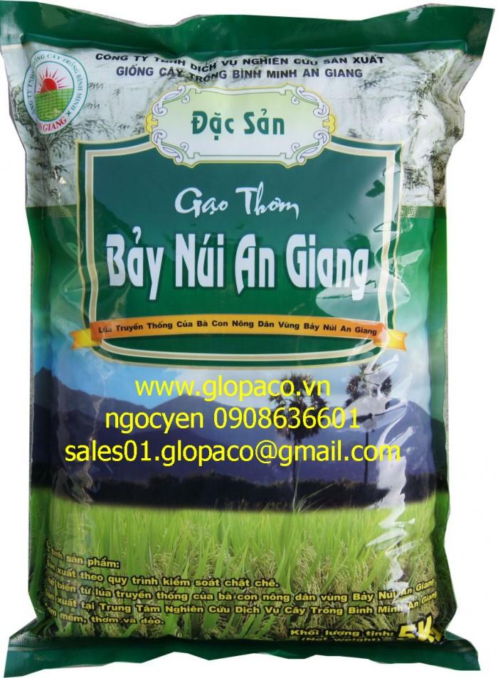 Túi 5kg gạo PA/PE xuất khẩu