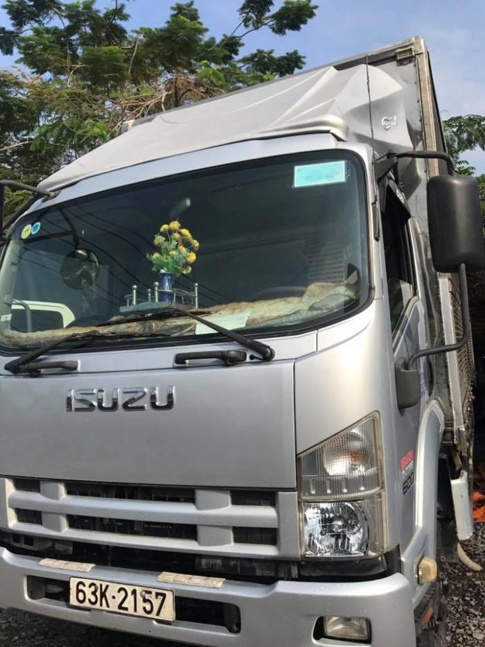 ISUZU thùng kính tải 5.8t. 2008.xe zin may lanh Teo. Thung dai 6.7m.
