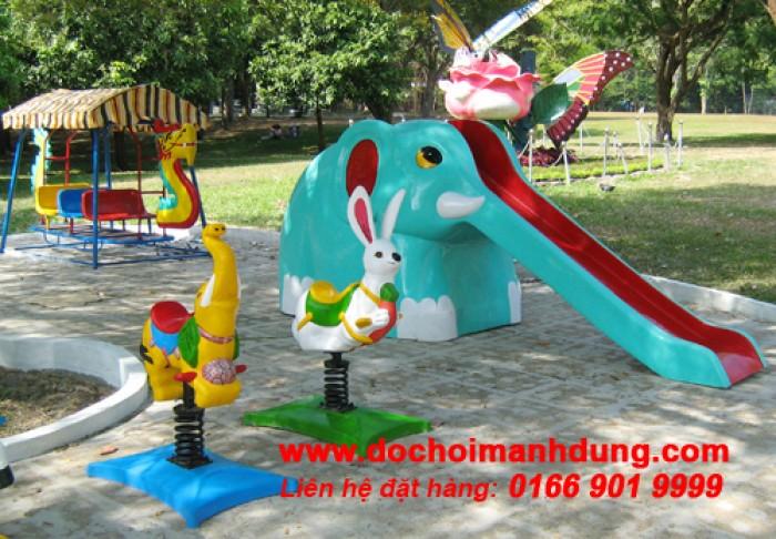 Cầu trượt con voi8