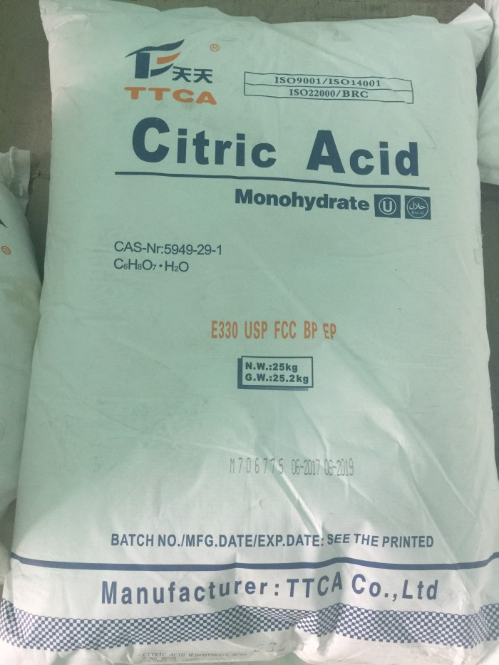 Acid Citric Monohydrate (Bột chua, bột chanh)0