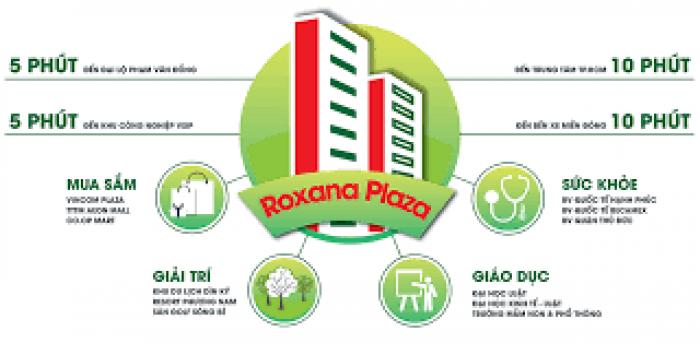Căn hộ Roxana Plaza, giá cực ưu đãi 2pn