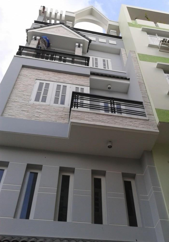 Bán gấp nhà HXH Phường 4, Phú Nhuận, ngang 4.8m