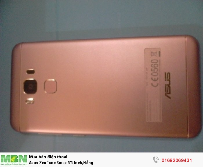 Asus ZenFone 3max 5'5 inch,Hồng