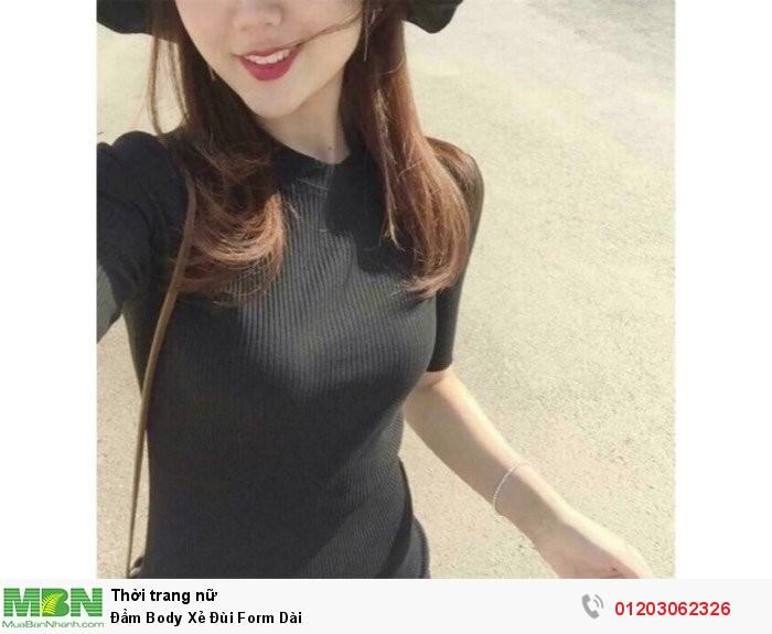 Đầm Body Xẻ Đùi Form Dài