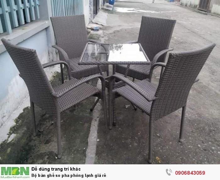 Bộ bàn ghế so pha phòng lạnh giá rẻ4