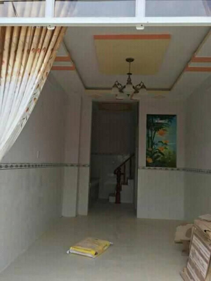 Nhà mới 3.5x14m, gần trường cấp 3 Bà Điểm