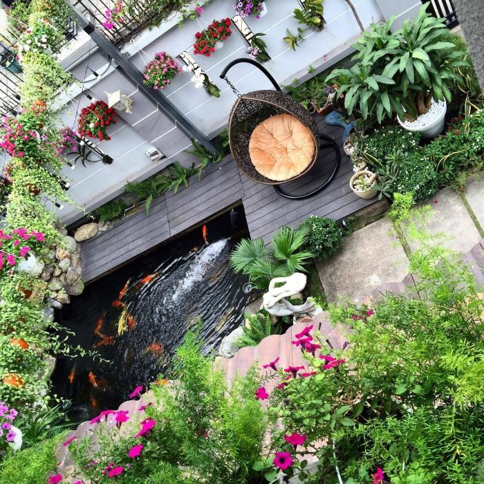 Bán biệt thự vườn của ca sĩ Cao Thái Sơn, nhà đẹp, giá tốt, nằm ở quận 7, cách quận 1 chỉ 10 phút