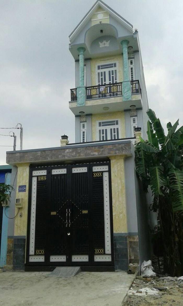 Nhà mới 4x40m-1 sẹc Trần Văn Mười - Hóc Môn
