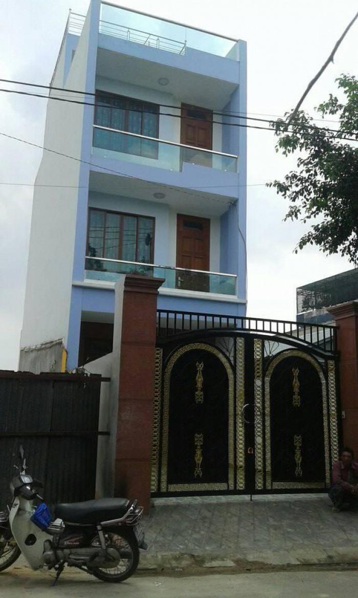 Nhà mặt tiền Võ Thị Hồi 4.5x17m, shr, Hóc Môn