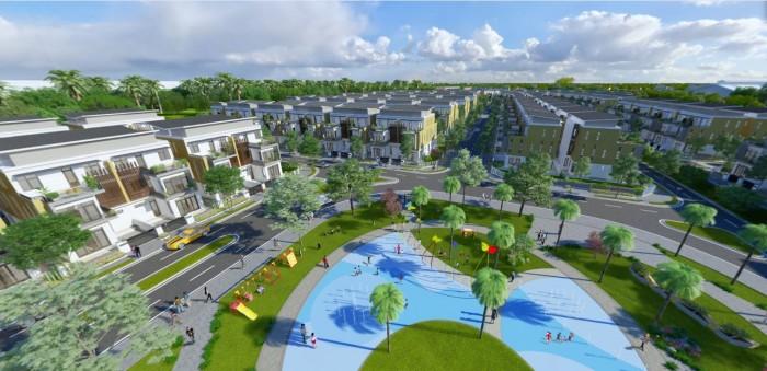 Nhà mới 100% , mặt tiền Nguyễn Văn Tuôi. Khu Công Nghiệp Thuận Đạo kế bên