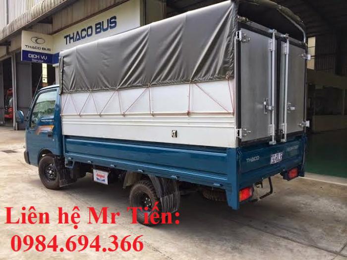 Xe tải Kia 1,25 tấn 1,4 tấn 1,9 tấn và 2,4 tấn Thaco Trường Hải đầy đủ các loại thùng giá ưu đãi 13