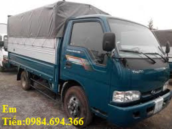 Xe tải Kia 1,25 tấn 1,4 tấn 1,9 tấn và 2,4 tấn Thaco Trường Hải đầy đủ các loại thùng giá ưu đãi 10
