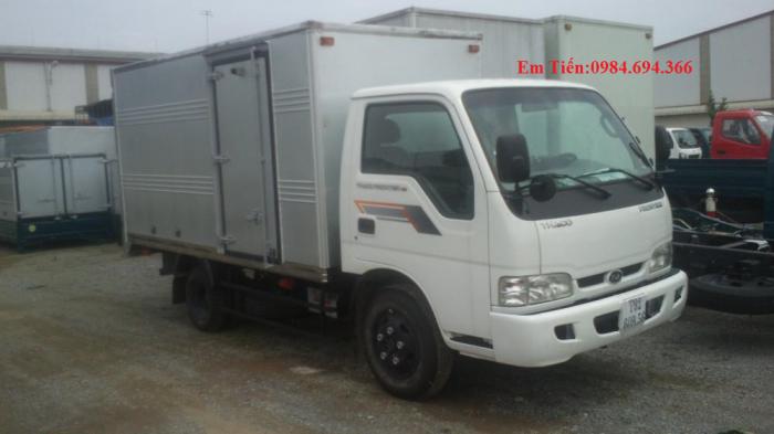 Xe tải Kia 1,25 tấn 1,4 tấn 1,9 tấn và 2,4 tấn Thaco Trường Hải đầy đủ các loại thùng giá ưu đãi 8