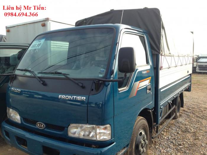 Xe tải Kia 1,25 tấn 1,4 tấn 1,9 tấn và 2,4 tấn Thaco Trường Hải đầy đủ các loại thùng giá ưu đãi 4