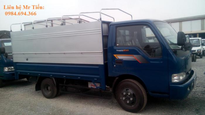 Xe tải Kia 1,25 tấn 1,4 tấn 1,9 tấn và 2,4 tấn Thaco Trường Hải đầy đủ các loại thùng giá ưu đãi 5