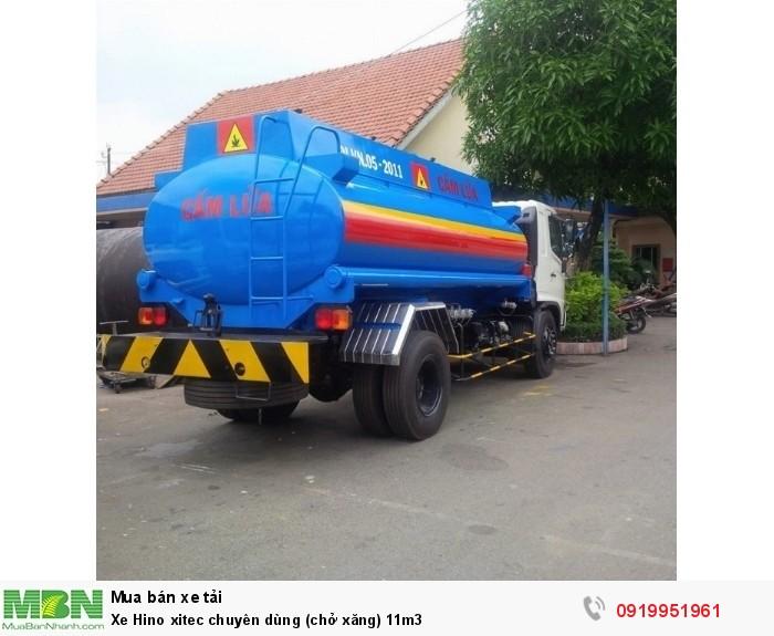 Xe Hino xitec chuyên dùng (chở xăng) 11m3