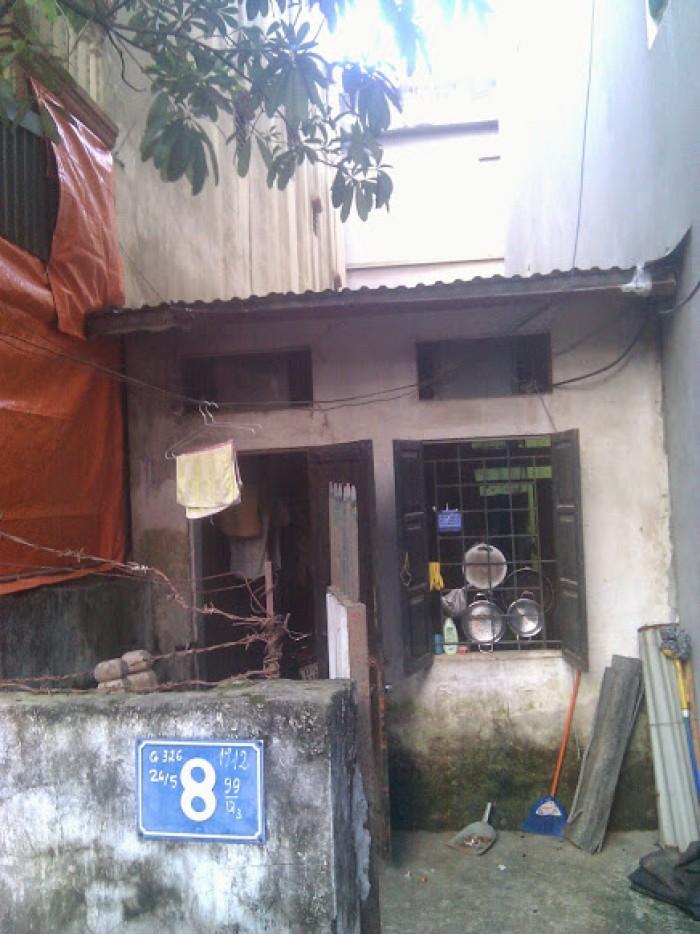Bán mảnh đất giá rẻ ngõ 67 Văn Cao, BĐình, nở hậu, ngõ rộng 4m