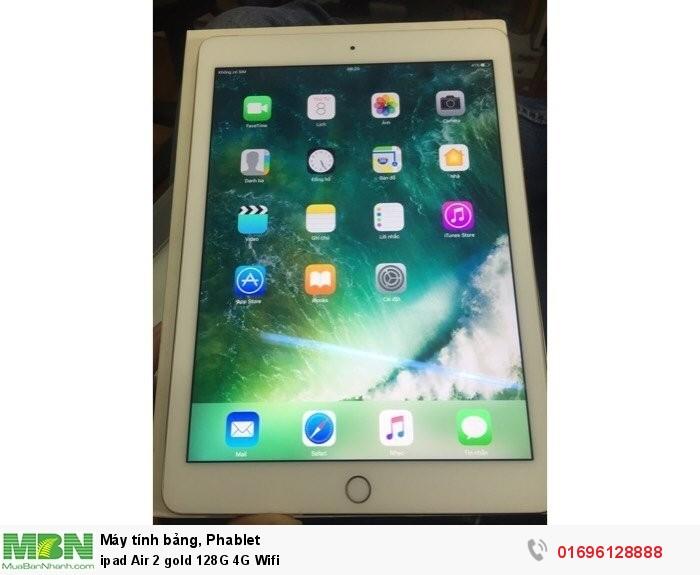 ipad Air 2 gold 128G 4G Wifi0