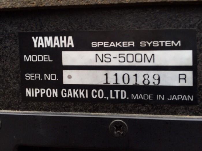 Loa Yamaha NS500M