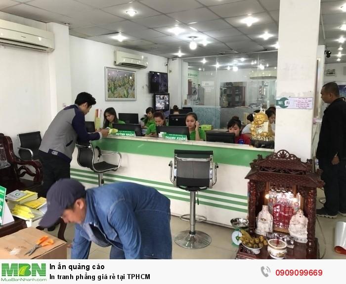 Bạn có thể liên hệ qua hotlline, email hoặc trực tiêp đến văn phòng xưởng in tranh phẳng tại 365 Lê Quang Định, phường 5, Bình Thạnh, HCM để trực tiếp xem mẫu chất liệu in