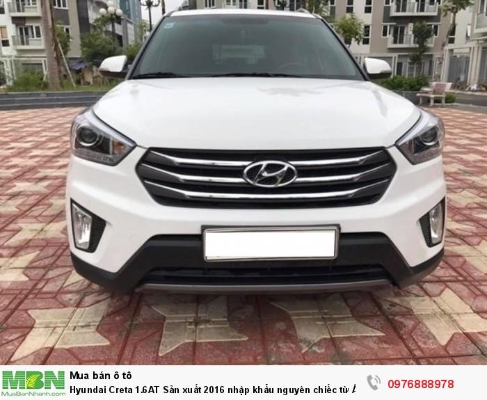 Hyundai Creta 1.6AT Sản xuất 2016 nhập khẩu nguyên chiếc từ Ấn Độ