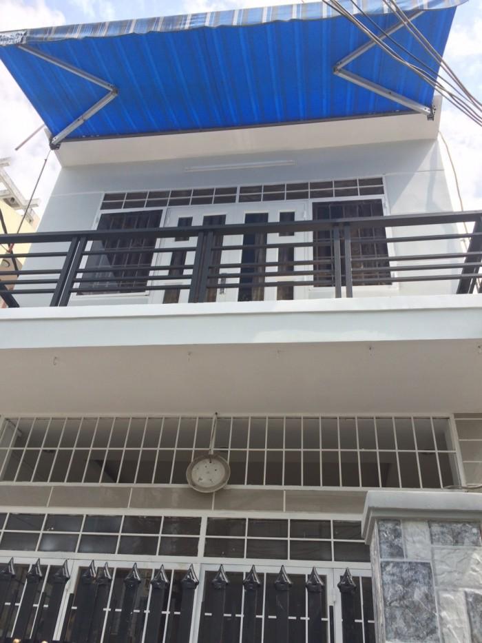 Nhà 2 Mặt Hẻm Lê Qunag Định, Dt 55M2