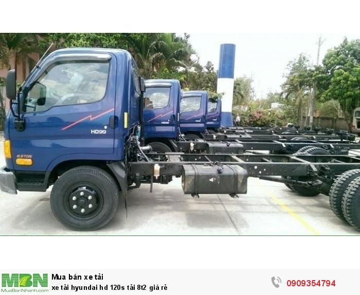 Hyundai HD120 sản xuất năm 2017 Số tay (số sàn) Xe tải động cơ Dầu diesel