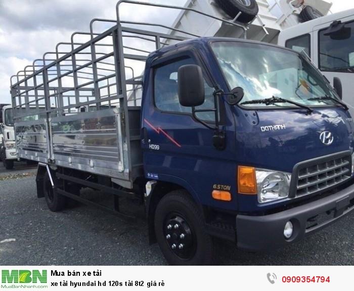 xe tải hyundai hd 120s tải 8t2 giá rẻ