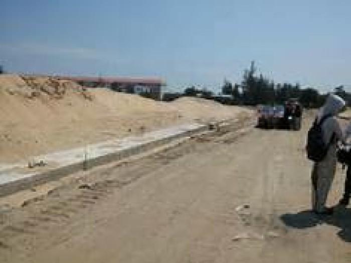 4 lô đất Hội An đường Nguyễn Du, sát chợ, biển Hà My,150m2