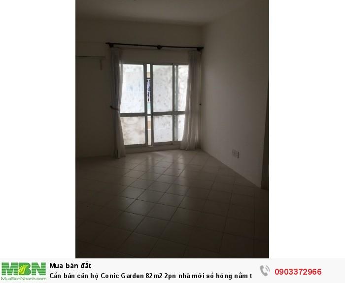 Cần bán căn hộ Conic Garden 82m2 2pn nhà mới sổ hông nằm trong kdc cao cấp giá rẻ