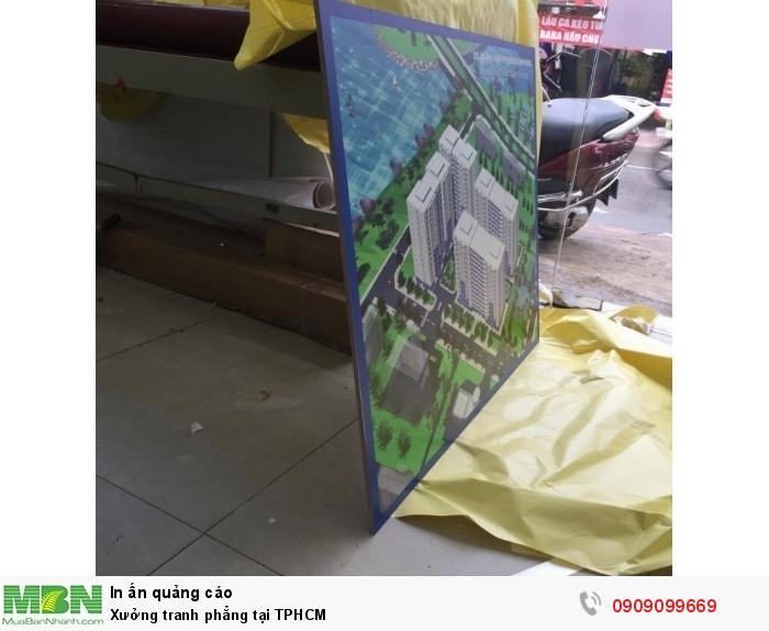 Xưởng tranh phẳng - In Kỹ Thuật Số nhận in tranh phẳng trên gỗ, in trực tiếp l...