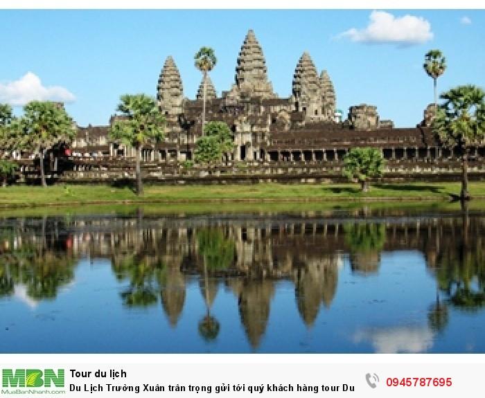 Đền Angkor wat - Campuchia