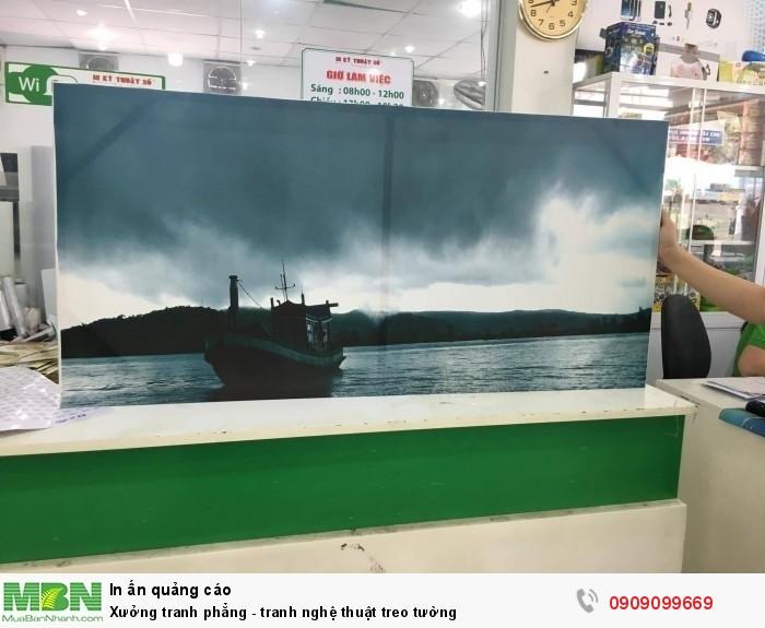 Xưởng tranh phẳng - tranh nghệ thuật treo tường tại TPHCM - in tranh  canvas mực nư...