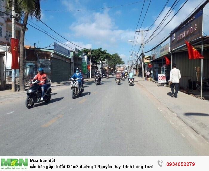 cần bán gấp lô đất 131m2 đường 1 Nguyễn Duy Trinh Long Trường quận 9 giá rẻ