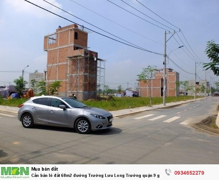 Cần bán lô đất 68m2 đường Trường Lưu Long Trường quận 9 giá rẻ