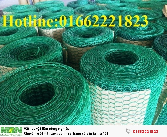 Chuyên lưới mắt cáo bọc nhựa, hàng có sẵn tại Hà Nội0