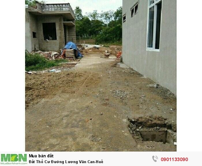 Đất Thổ Cư Đường Lương Văn Can-Huế