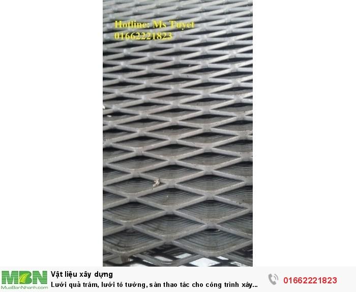 Lưới quả trám, lưới tô tường, sàn thao tác cho công trình xây dựng0