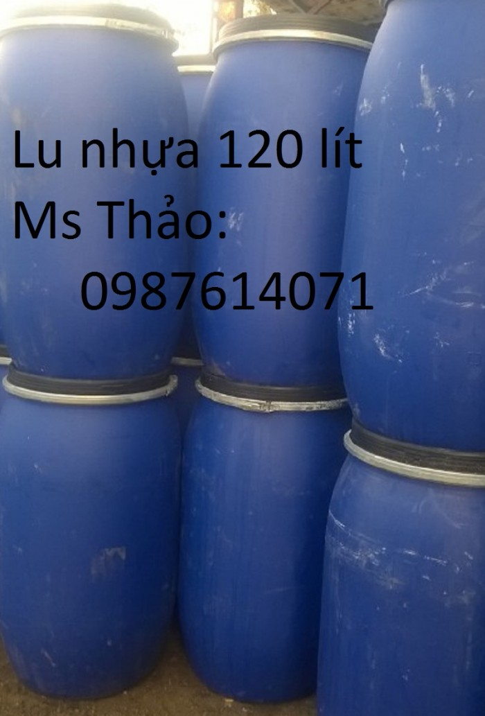 Lu nhựa 120 lít