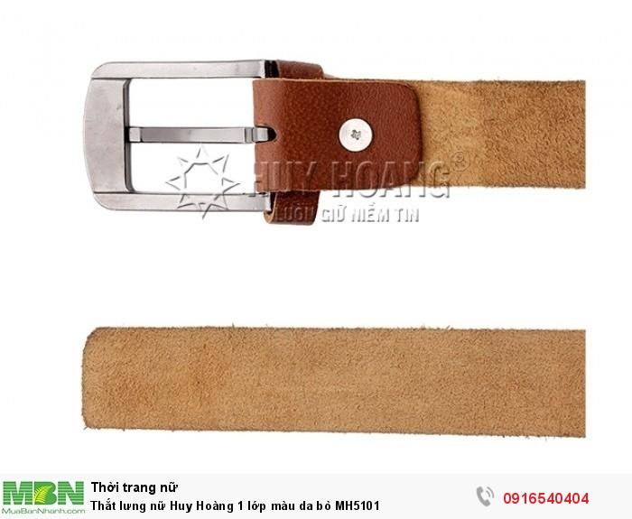 - Bề mặt thắt lưng, bề mặt da không bị rạn nứt hoặc bị gãy theo thời gian.2