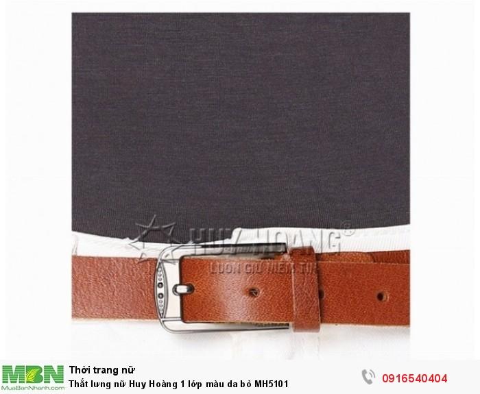 - Thoải mái điều chỉnh kích cỡ thắt lưng theo số đo vòng 2.  - Kiểu dáng sang trọng, màu sắc tinh tế, lịch lãm để bạn thoải mái lựa chọn.3