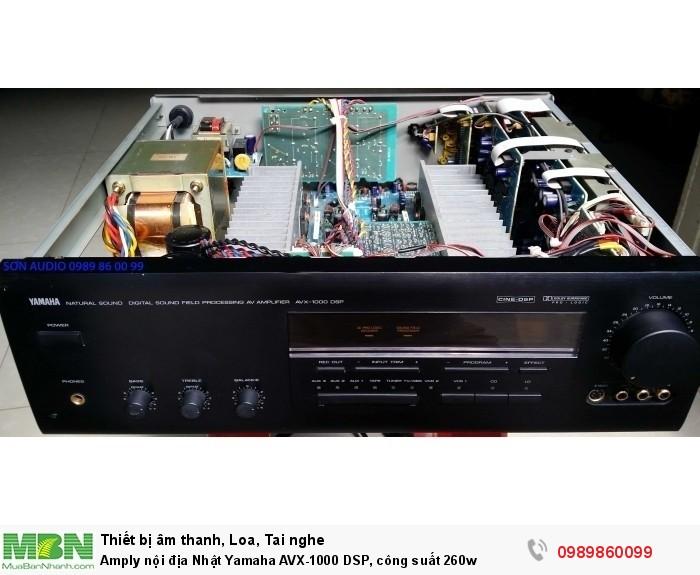 Amply nội địa Nhật Yamaha AVX-1000 DSP, công suất 260w1
